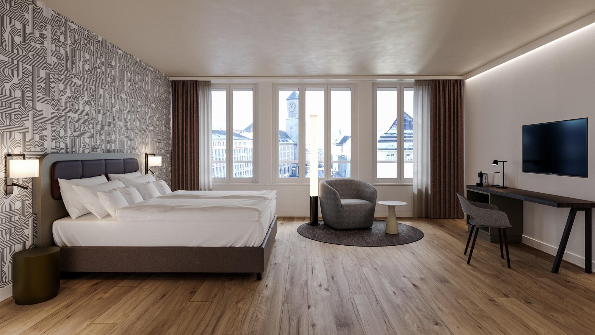 Longstay Zimmer im Zentrum von St. Gallen