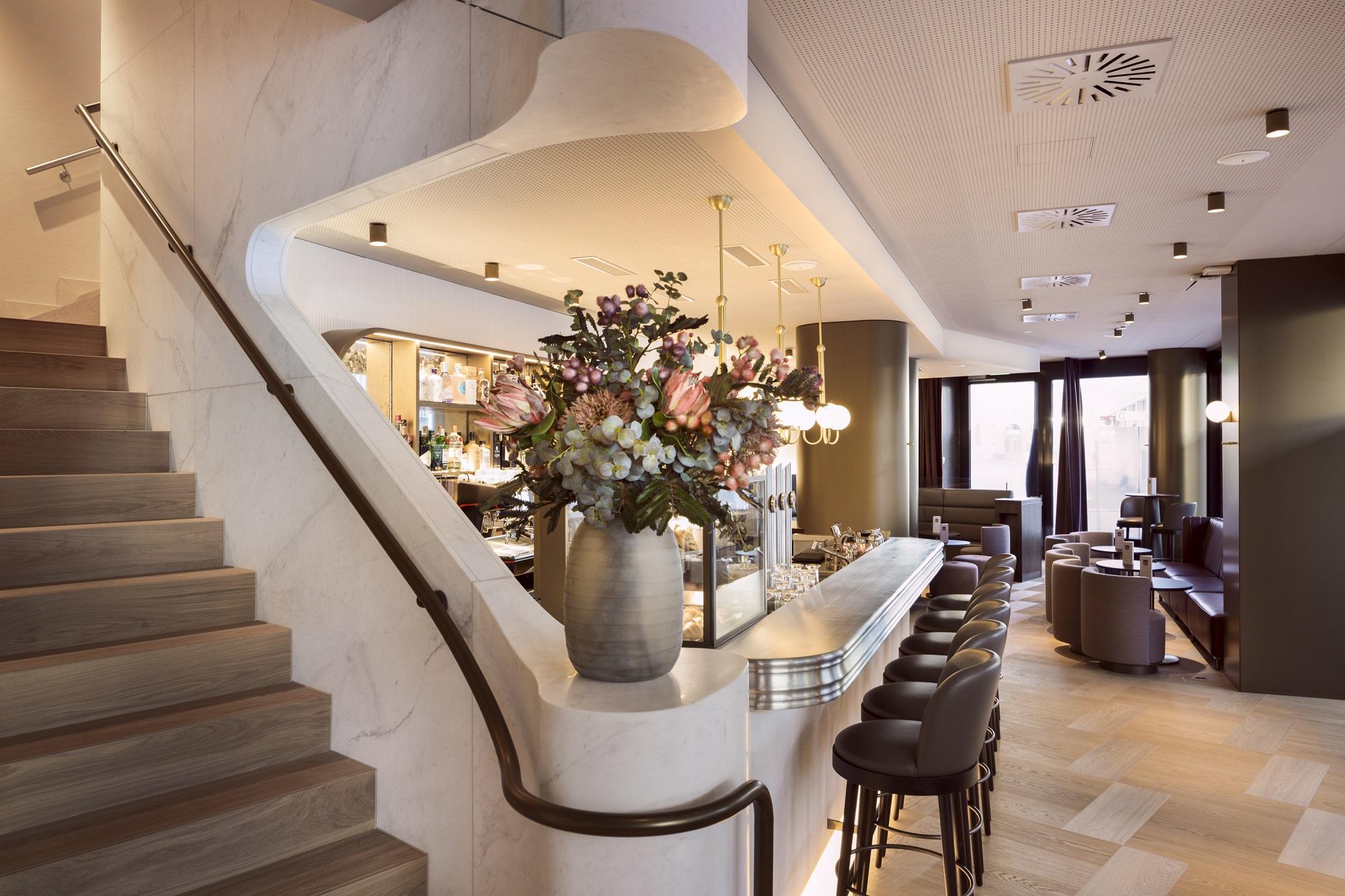 Stilvolle Bar Hotel Walhalla St Gallen