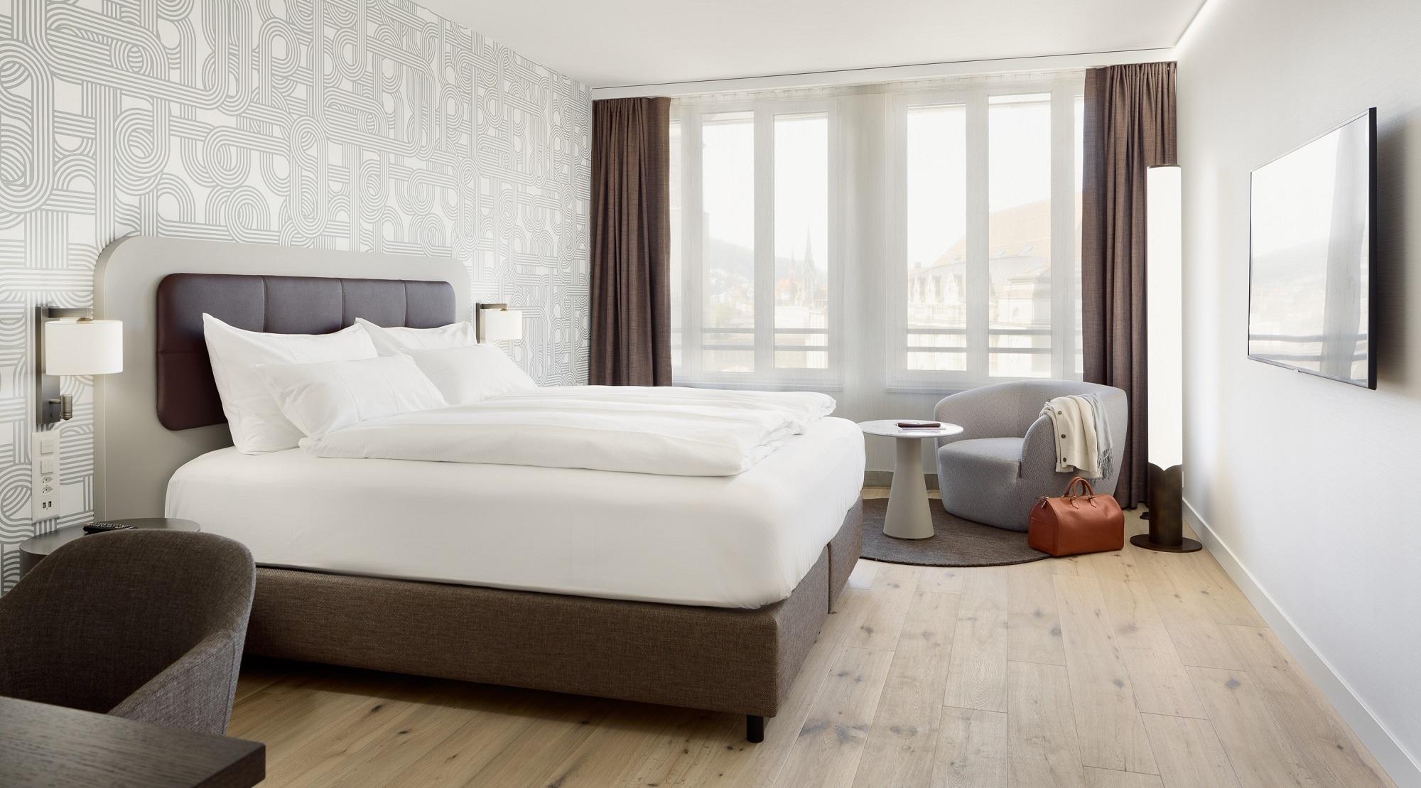 Walhalla Hotel St Gallen Deluxe Zimmer